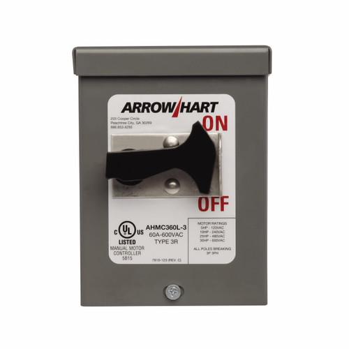 Eaton Wiring Devices AHMC360L-3 AHMC360L MOUNTED IN NEMA 3R ENCLOSURE