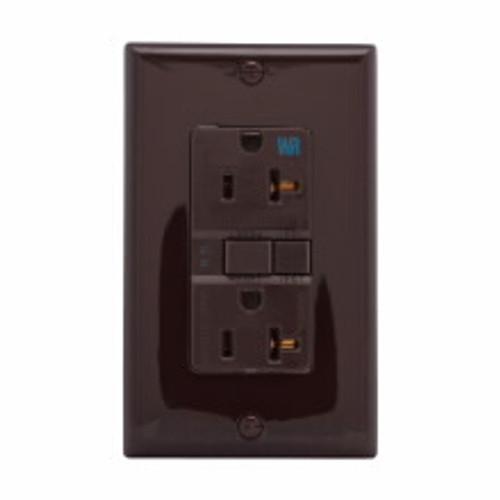 Eaton Wiring Devices WRSGF20FB GFCI WR ST Duplex 20A 125V BR NAFTA