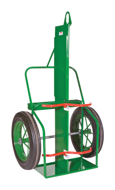 Sumner 213-25PB-LF Double Cylinder Cart w/Firewall, Lifting Eye & Double Containment Bars