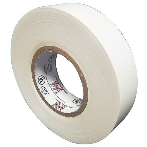 """Morris Products 60112 7 Mil Professional Grade Vinyl Electrical Tape White 3/4"""" X 66'"""