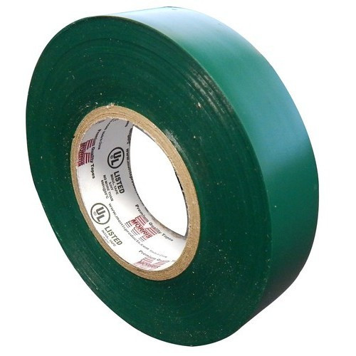 """Morris Products 60114 7 Mil Professional Grade Vinyl Electrical Tape Green 3/4"""" X 66'"""