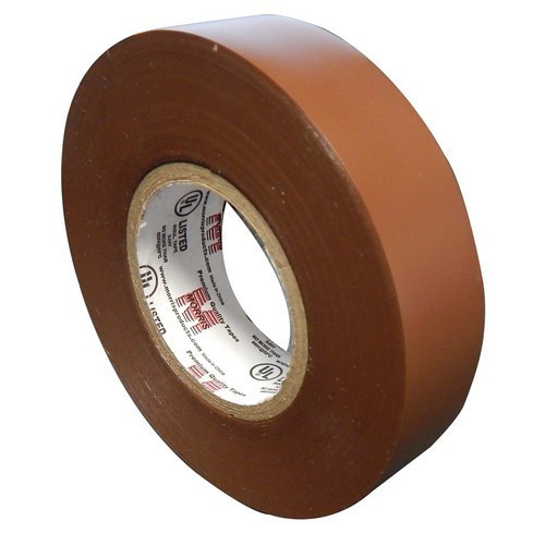 """Morris Products 60116 7 Mil Professional Grade Vinyl Electrical Tape Brown 3/4"""" X 66'"""