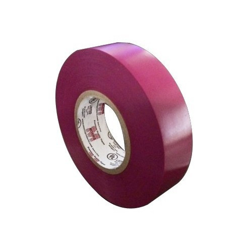 """Morris Products 60119 7 Mil Professional Grade Vinyl Electrical Tape Violet 3/4"""" X 66'"""