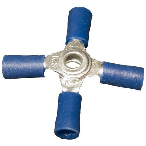 Morris Products 12180 Vinyl Insulated 4-Way Connectors 16-14