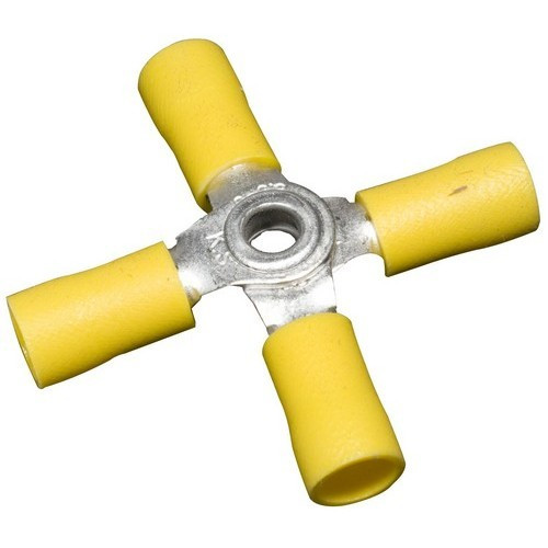 Morris Products 12182 Vinyl Insulated 4-Way Connectors 12-10