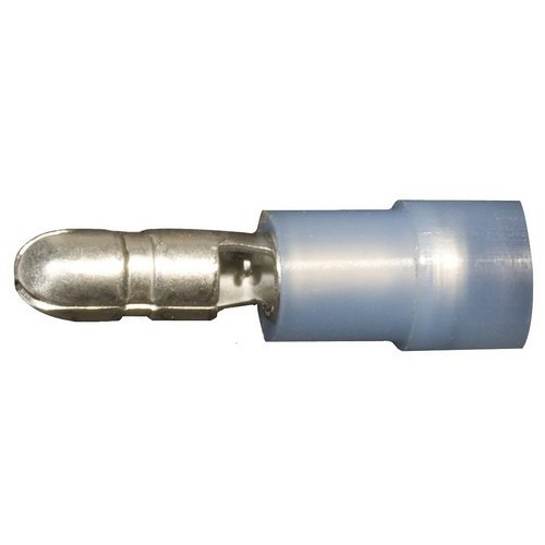 Morris Products 12054 Nylon Insulated Double Crimp Bullet Disconnects - 16-14 Wire, .157 Bullet