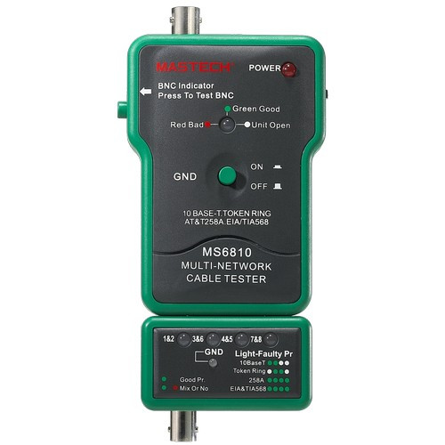 Morris Products MS6810 Coax Multi-Network Cable Tester