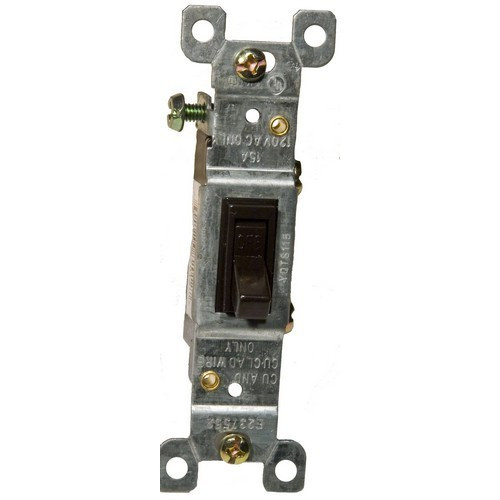Morris Products 82032 Toggle Switch Brown 3 Way 15A-120/277V