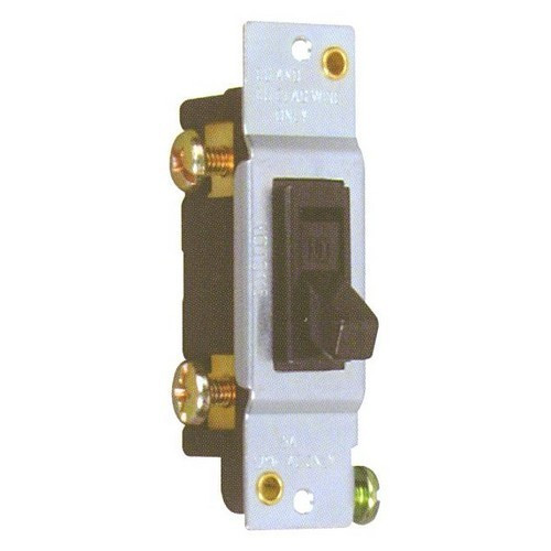 Morris Products 82048 Single Pole Toggle Switch without Mounting Ears 15A-120V