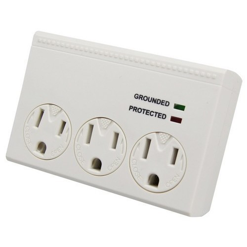 Morris Products 89040 3 Outlet Surge Protector