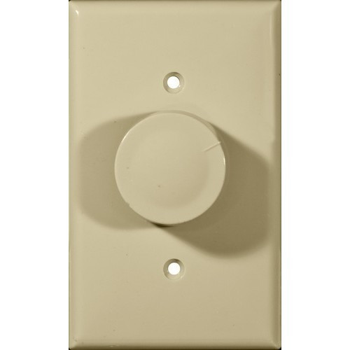 Morris Products 82710 Rotary Dimmer Ivory Single Pole (Turn On/Off)