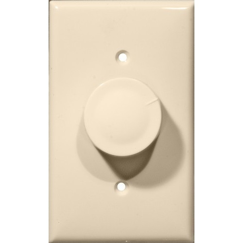 Morris Products 82713 Rotary Dimmer Almond Single Pole (Turn On/Off)