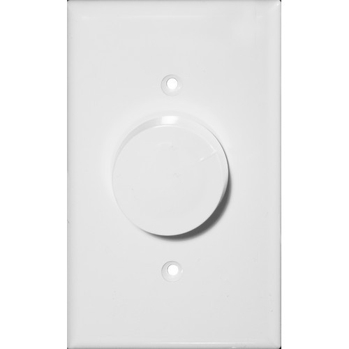 Morris Products 82716 Rotary Dimmer White 3-Way (Push On/Off)