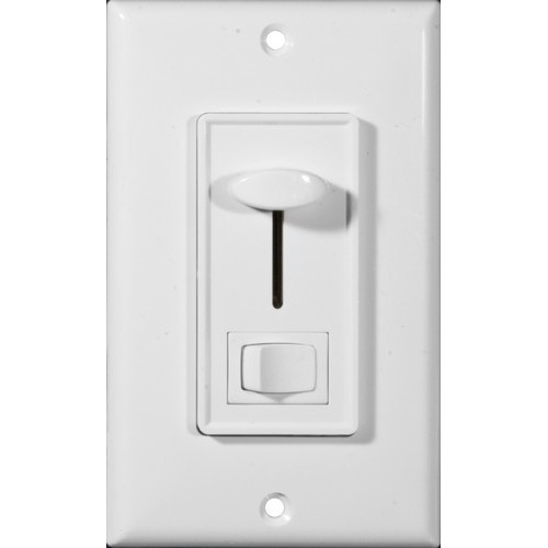 Morris Products 82756 Slide Dimmer With Switch White 3-Way