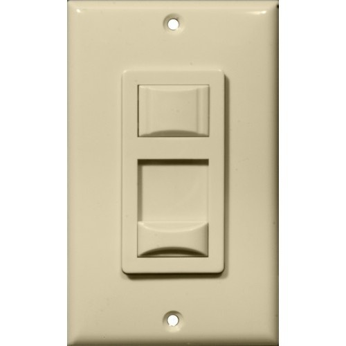 Morris Products 82740 Fluorescent & CFL Dimmer Ivory Single Pole