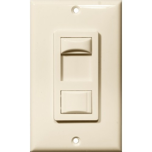Morris Products 82743 Fluorescent & CFL Dimmer Almond Single Pole