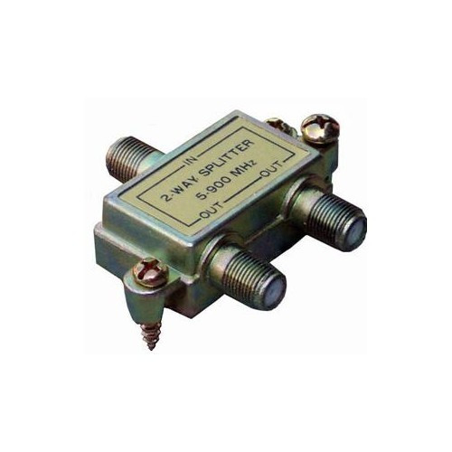 Morris Products 45030 2 Way Splitters with Ground Block 5-900 Mhz