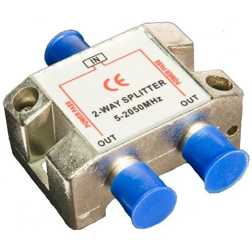 Morris Products 45034 2 Way Splitters with Ground Block Satellite 5-2050Mhz