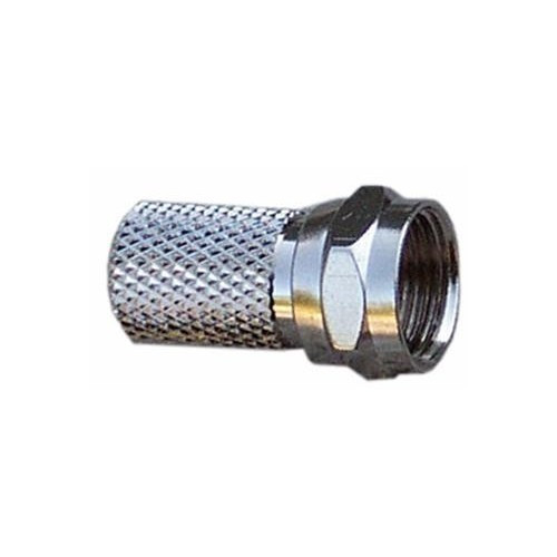 Morris Products 45080 Type 'F' Coaxial Connector - Twist On RG6
