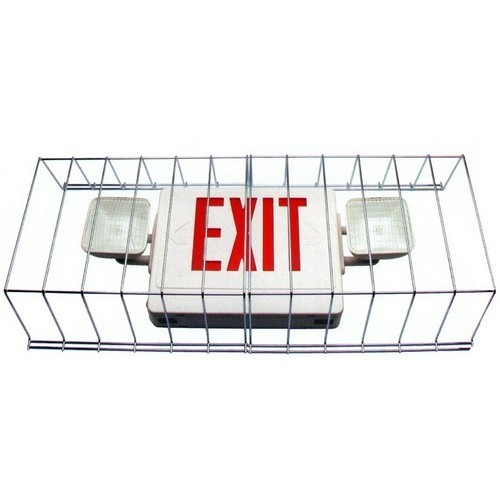 Morris Products 73096 Wire Guard Combo For Use With Combo Emergency/Exit Lights