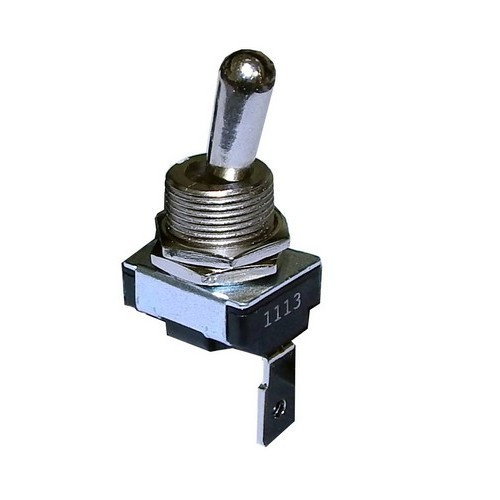 Morris Products 70062 Medium Duty Toggle Switch SPST On-Off Quick Connect Spade Terminal