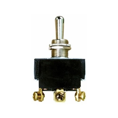 Morris Products 70300 Heavy Duty Momentary Contact Toggle Switch DPDT (On)-Off-(On) Screw Terminals