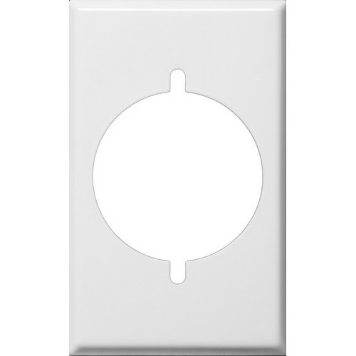 Morris Products 83482 Painted Steel Wall Plates 1 Gang Range/Dryer White