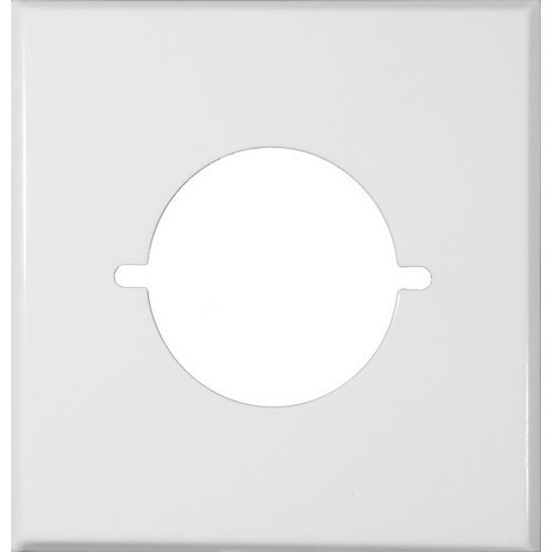 Morris Products 83487 Painted Steel Wall Plates 2 Gang Range/Dryer White
