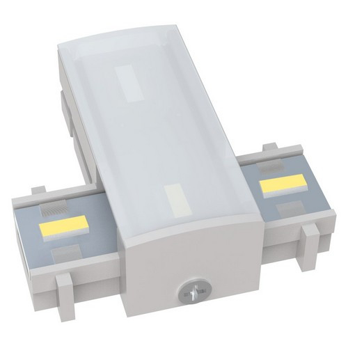 Morris Products 71213 12V LED Undercabinet Lighting Accessories Tee Middle Connector 3000K