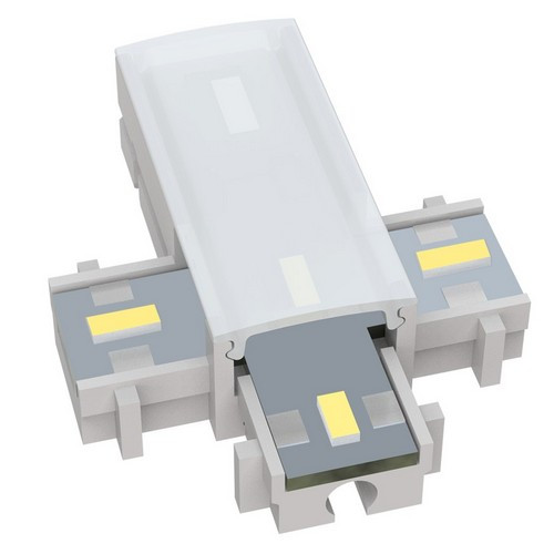 Morris Products 71238 12V LED Undercabinet Lighting Accessories Cross Connector 5000K