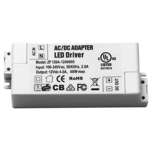 Morris Products 71246 12V LED Undercabinet Lighting Accessories Hard Wire Power Supply 12V 4A  48W