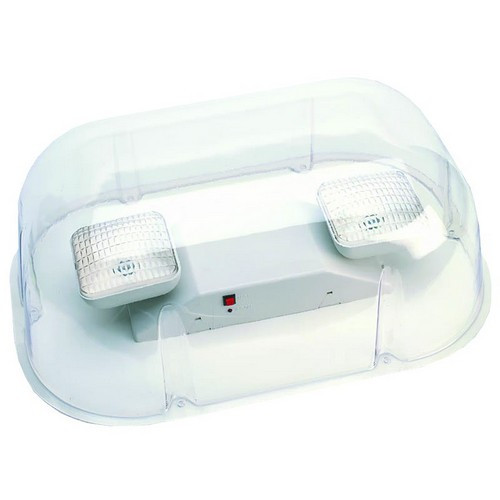 Morris Products 73091 Polycarbonate Vandal/Environmental Shield Guard For Use With Emergency Lights