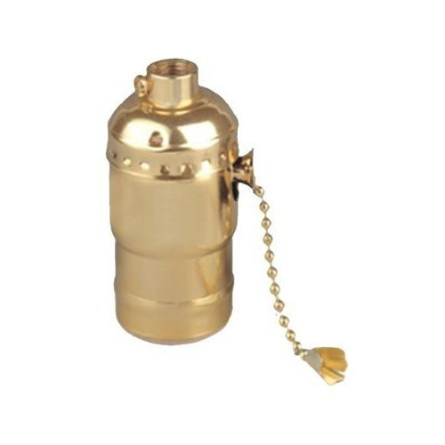 Morris Products 45200 Pull Chain Lampholder On-Off