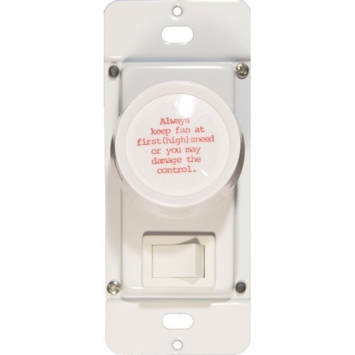 Morris Products 82621 Rotary Fan 3 Way Speed Controls White