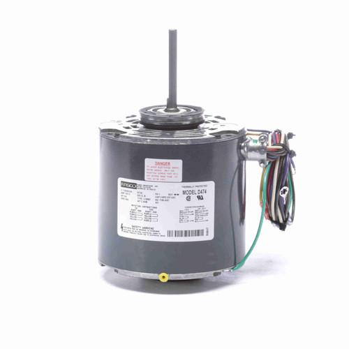 Fasco D474 1/10 HP Condenser Fan Motor 1550 RPM 115/208-230V 42 Frame Replaces GE 2142