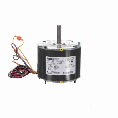 Fasco D1071 1/6 HP OEM Replacement Motor 1100 RPM 208/230V 42 Frame Replaces Emerson 48HXCLW-1562