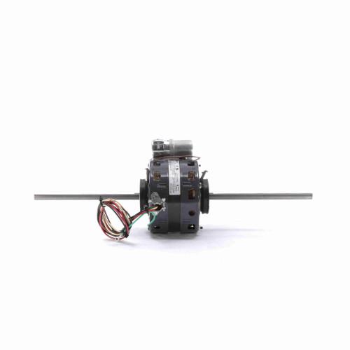 Fasco D258 1/5-1/10 HP Fan Coil / Room Air Conditioner Motor 1550 RPM 2 Speed 208/230V 42 Frame Replaces Magnetek 747
