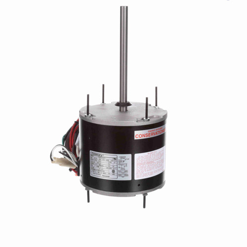 Century FE6000F 1/3-1/16 HP Condenser Fan Motor 1075 RPM 2 Speed 208-230V 48 Frame MasterFit Pro Replaces Emerson 5462