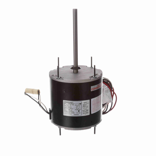 Century FE6002F 1/2-1/5 HP Condenser Fan Motor 1075 RPM 2 Speed 208-230V 48 Frame MasterFit Pro Replaces Emerson 5465