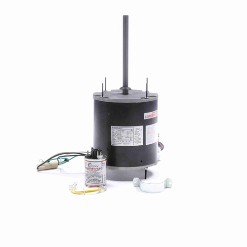Century FE6004F 3/4-1/4 HP Condenser Fan Motor 1075 RPM 2 Speed 208-230V 48 Frame MasterFit Pro Replaces Mars 20471
