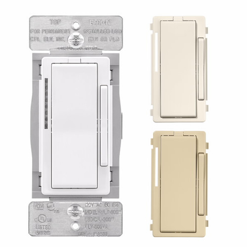Eaton Wiring Devices WFD30-C2-SP-L Wi-Fi Smart Dimmer Switch