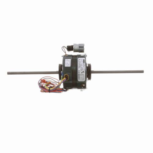 Fasco D221 1/6-1/8-1/10-1/12 HP Fan Coil / Room AC Motor, 1550 RPM 4 Speed 120 V