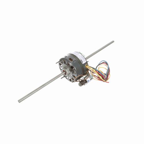 Fasco D347 1/8-1/10-1/15-1/20 HP Fan Coil/Room AC Motor 1550 RPM 4 Speed 115 V 42 Frame