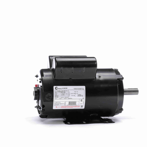 Century CP1502L 5.0 HP Air Compressor Motor 1 phase 3600 RPM 230V 56HZ Frame
