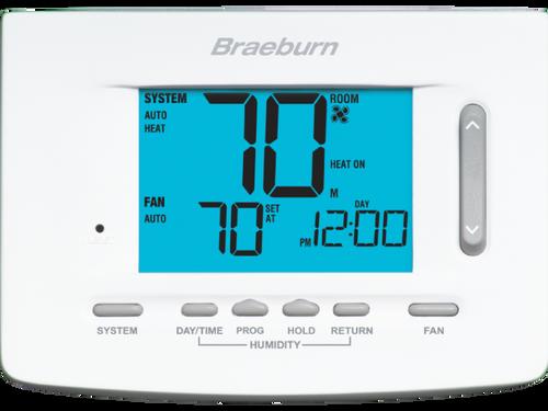 Braeburn 5025 Premier Universal 7, 5-2 Day or Non-Programmable 2H/1C w/Humidity Control