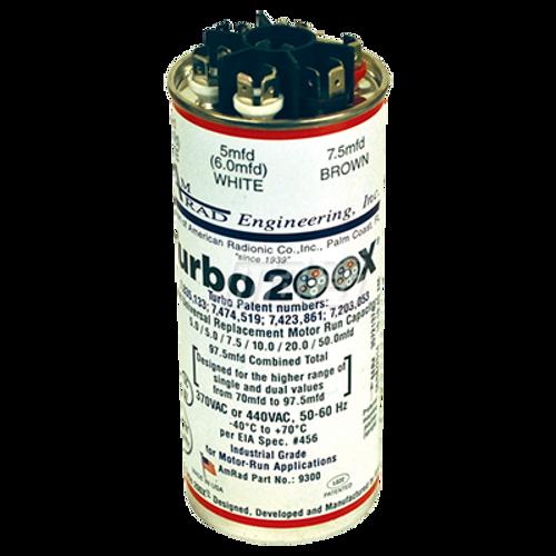 Mars 12300 TURBO 200X 5/5/7.5/10/20/50MFD Universal Run Capacitor