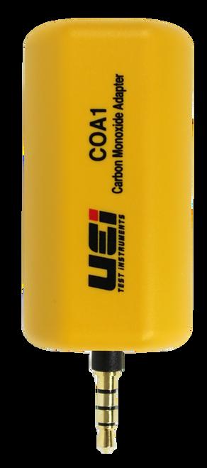 UEI COA1 Carbon Monoxide Detector Adapter For Smartphones and uei Clamp Meters