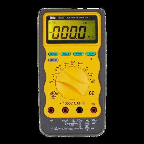 UEI DM393 True RMS Multimeter with Temperature and Capcitance