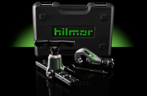 Hilmor 1937685 FTOK Orbital Flare Kit with Tubing Cutter and Deburring Tool