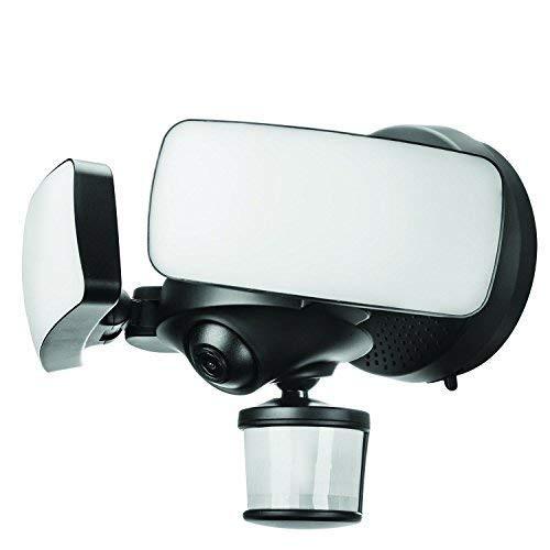 Maximus Camera Floodlight - Black - Compatible with Alexa